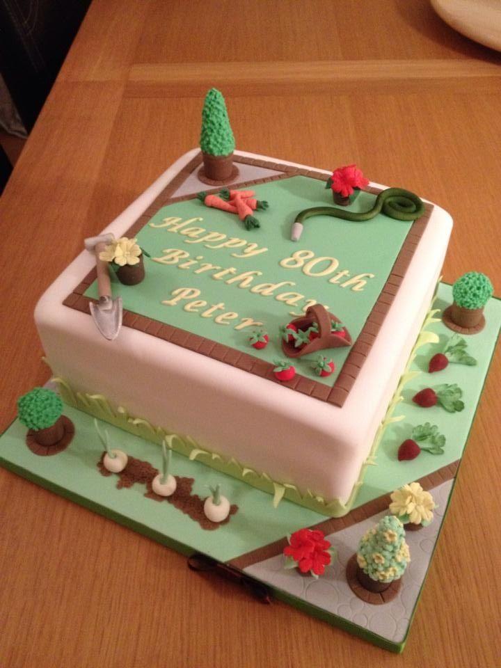 Cake Decorating Course Stoke On Trent : 62 best Gardening Cake images on Pinterest Garden cakes ...