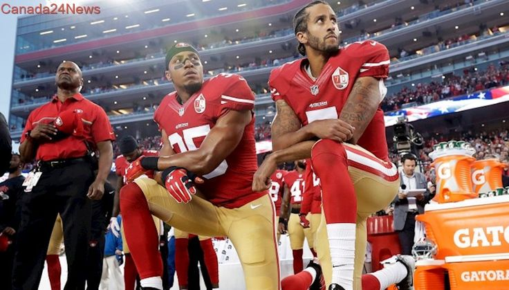 Anthem protests continue as NFL season starts in Kaepernick's absence