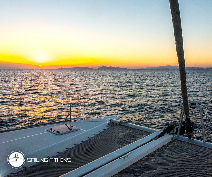 """Sunset Lovin"" Book your sunset cruise with a luxury catamaran"