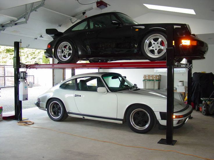 The 25 best 4 post car lift ideas on pinterest 4 post for Garage plans with lift