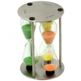 Un cronomnetru romantic si hipnotizant, Clepsidra 3-4-5 minute care-ti va distrage atentia de la munca
