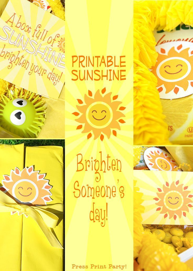 image relating to Box of Sunshine Printable named Solar Box Printables Solar Present Box Cheer Up Treatment