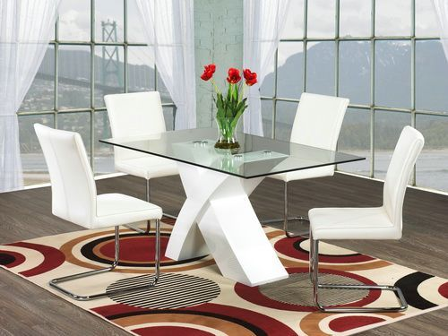 Good Modern Glass Dining Table Apartment