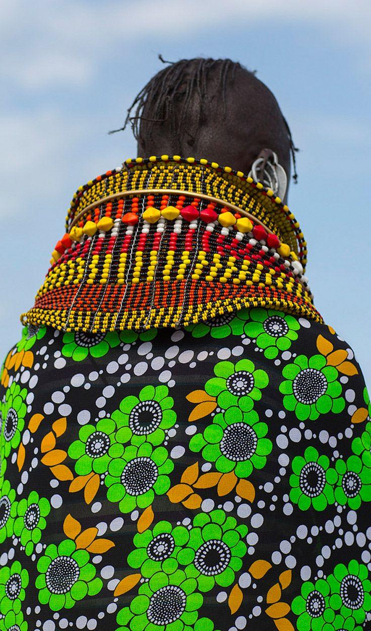 Turkana woman. Loiyangalani, Kenya | © Eric Lafforgue