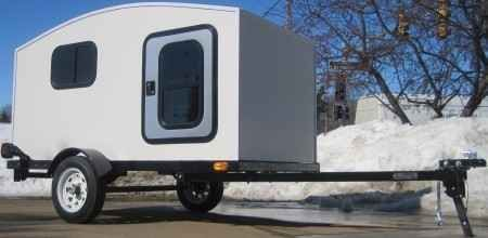 New 2014 Gsi WonaDayGo 6' x 10' Enclosed Camper Tailgate Trailer - M ATVs For Sale in Illinois.