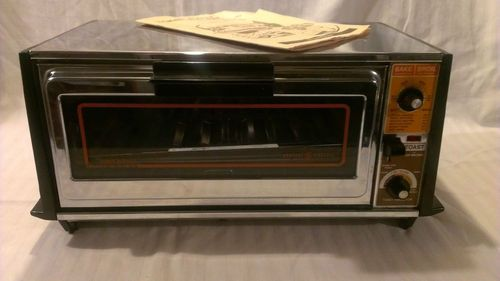 Old Ge Toaster Ovens ~ Vintage ge general electric toast n broil r oven