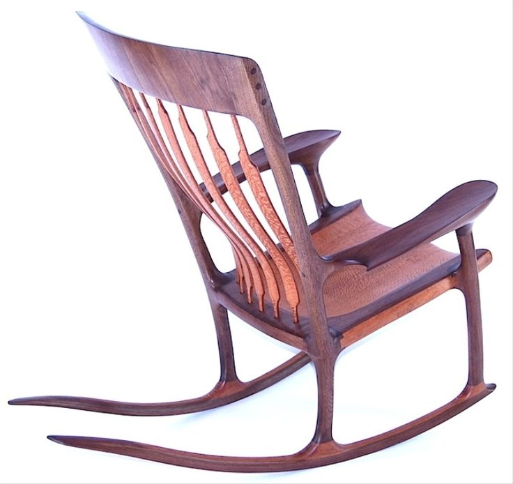 made orig handmade in fine maple hand solid houston handshake rocking tiger chair and wood furniture chairs