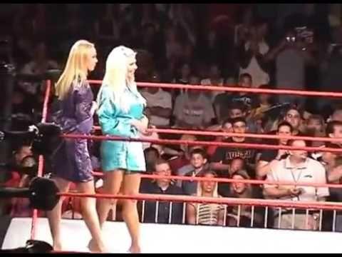 WWE 2K17: Stacy Keilber vs. Torrie Wilson (Bra and Panties Match) - YouTube