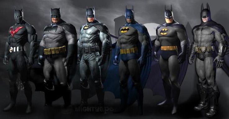 Дополнительные костюмы бэтмена в batman arkham city