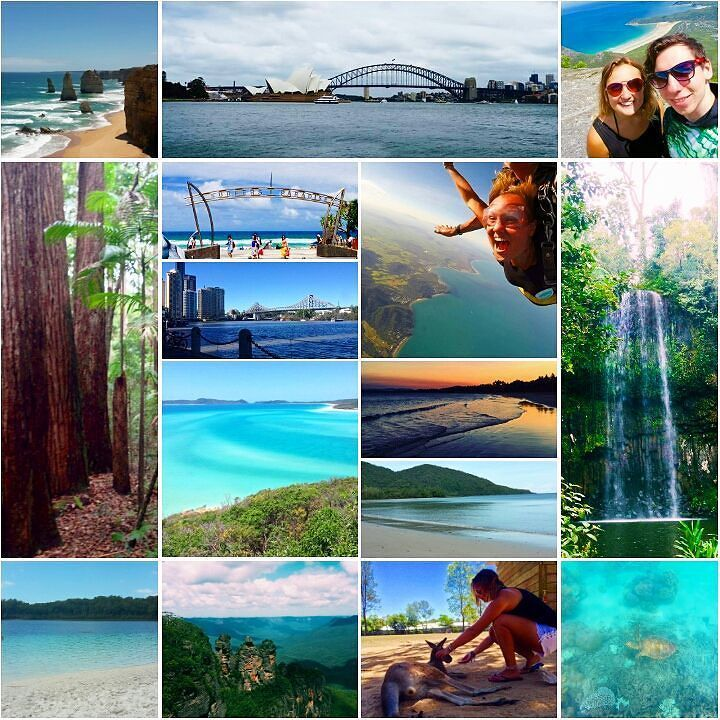 The most incredible 47 days travelling the East Coast of Australia. #melbourne #greatoceanroad #philipisland #wilsonsprom #sydney #bluemountains #byronbay #goldcoast #brisbane #noosa #fraserisland #rockhampton #airliebeach #whitsundays #missionbeach #skydive #cairns #greatbarrierreef #athertontablelands #capetrib #daintree #eastcoast #australia #backpacking #travel by melissabaker03