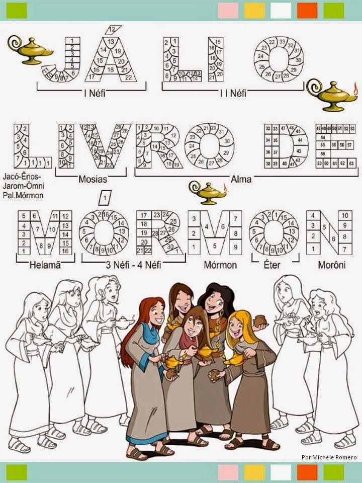 As Tontas Vão Ao Céu: Instituto - O Livro de Mórmon