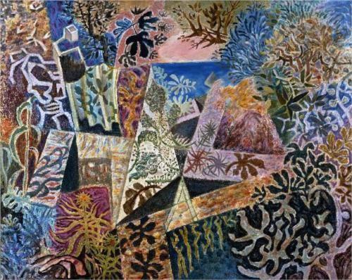Wild Garden - Nikos Hadjikyriakos-Ghikas  Greek 1959