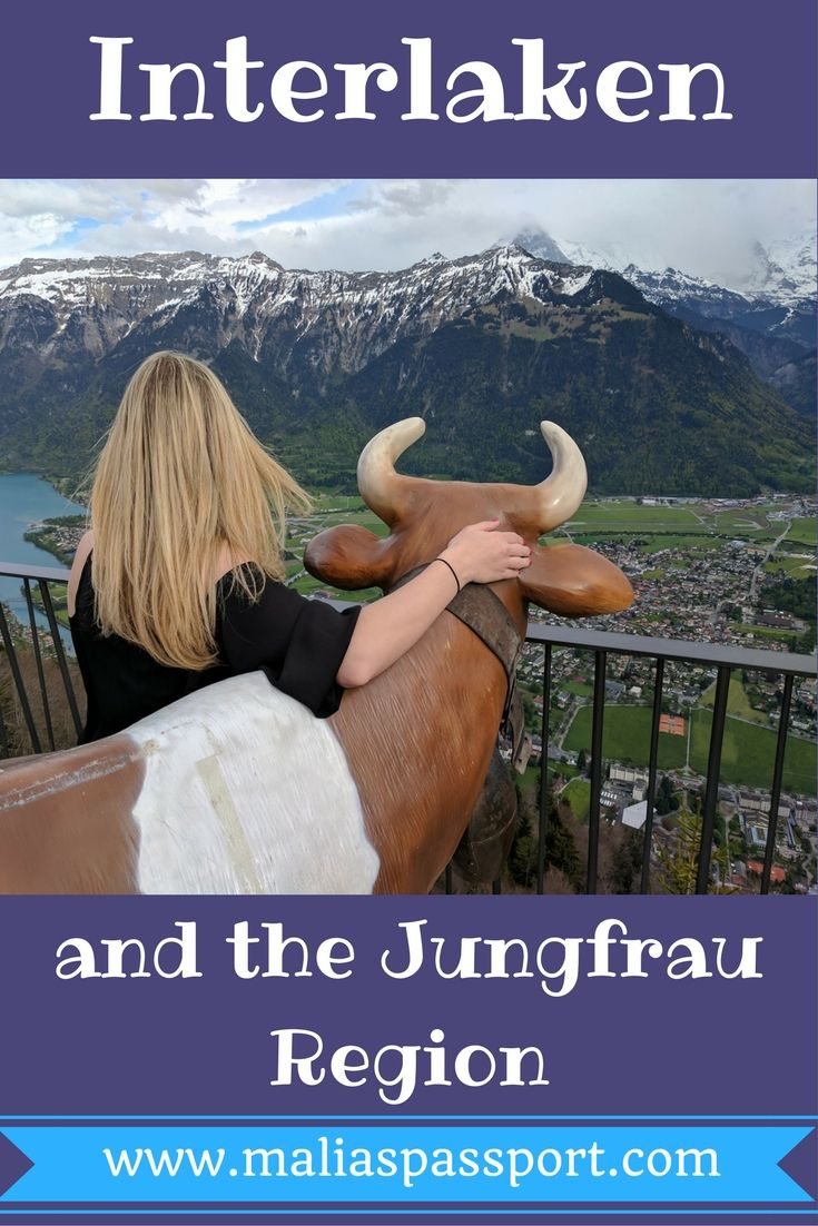"""During our stay in Switzerland, we wanted to visit the Swiss Alps and explore all the cute little picturesque alpine towns! Looking at the map, we knew that we really wanted to be in the Jungfrau Region. We chose to stay in Interlaken and have that be our central location while we visited this area … Continue reading """"Interlaken and the Jungfrau Region"""""""