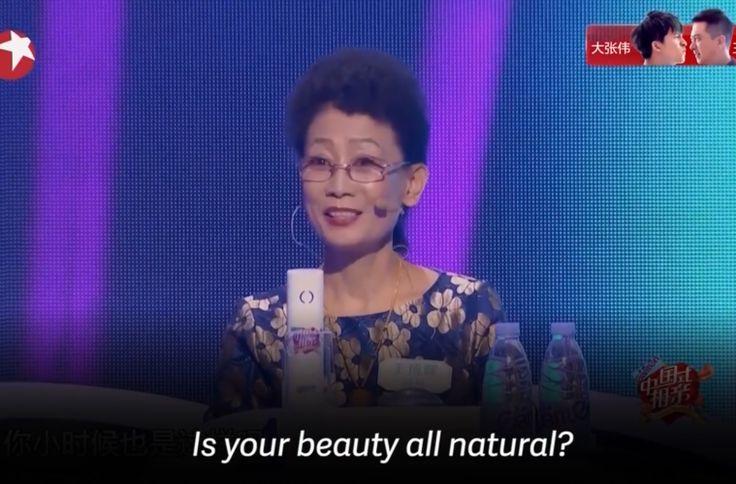 chinese dating show transgender host