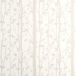 Cottonwood White Leaf Wallpaper