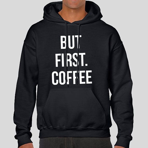 But First. Coffee Slogan Personalised Unisex by PaperTigersApparel