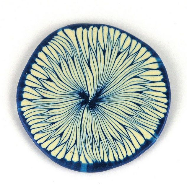 Organic Polymer Clay Cane, via Flickr.