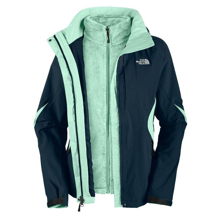 The North Face Boundary Triclimate Ski Jacket (Women's) - Kodiak Blue/Kodiak Blue/Sisley Blue