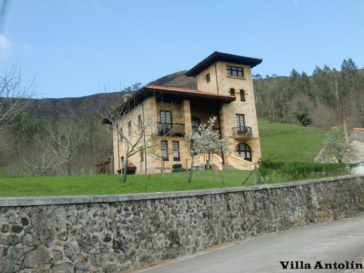Villa antol n pur n llanes asturias espa a casas de indiano pinterest villas - Casa de asturias madrid ...