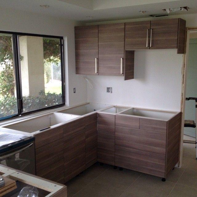 Custom Ikea kitchen in Palm Springs, CA #ikeakitchens #ikeakitchen