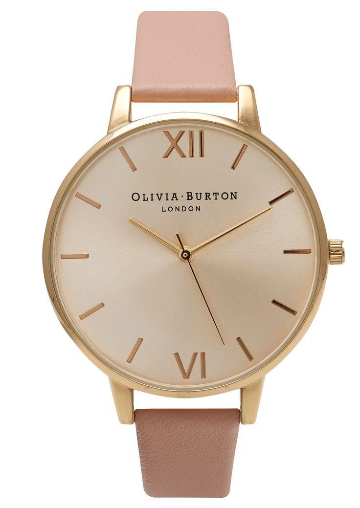 Olivia Burton Big Dial Watch - Gold