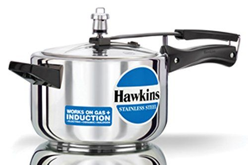 ORIGINAL HAWKINS INDUCTION 3 LITRE STAINLESS STEEL CODE B60 WORKS ON GAS AND INDUCTION PRESSURE COOKER WITH DHL SHIPPING 4-5 DAYS DELIVERY *** Special  product just for you. See it now! : Pressure Cookers