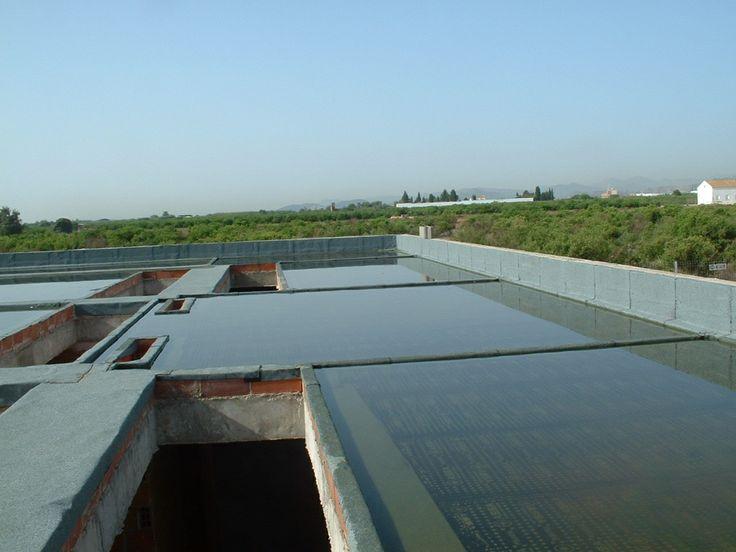 Pruebas de servicio. Estanqueidad de cubierta planta por inundacion. DRC www.mglobal.es