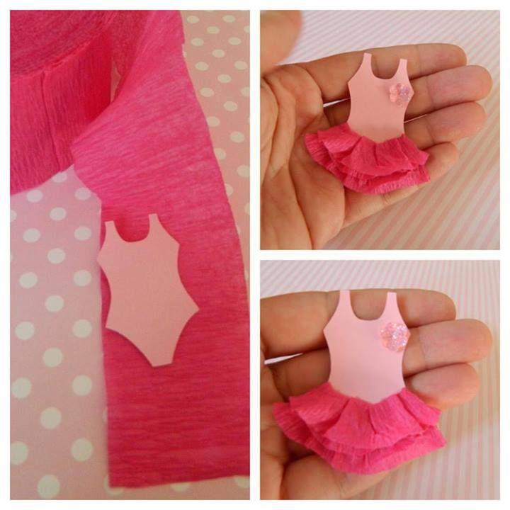 Ballerina cupcake topper                                                                                                                                                                                 Más