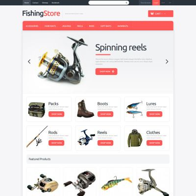 Love Fishing Responsive PrestaShop Theme