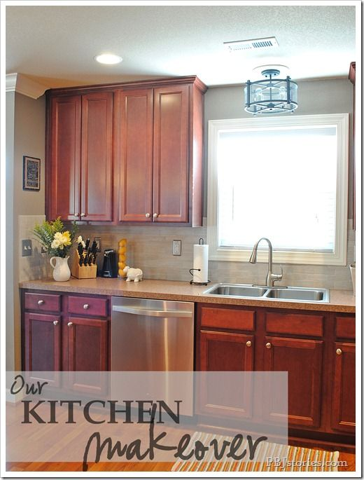 innovative updated kitchen colors | PBJstories.com : Kitchen updates - small changes make big ...