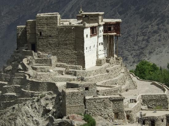 Baltit Fort, Gilgit-Baltistan, Pakistan: Baltit Fort or Balti Fort is an ancient fort in the Hunza valley in Gilgit-Baltistan, Pakistan. In the past, the survival of the feudal regime of Hunza was ensured by the impressive Baltit fort, which overlooks Karimabad —