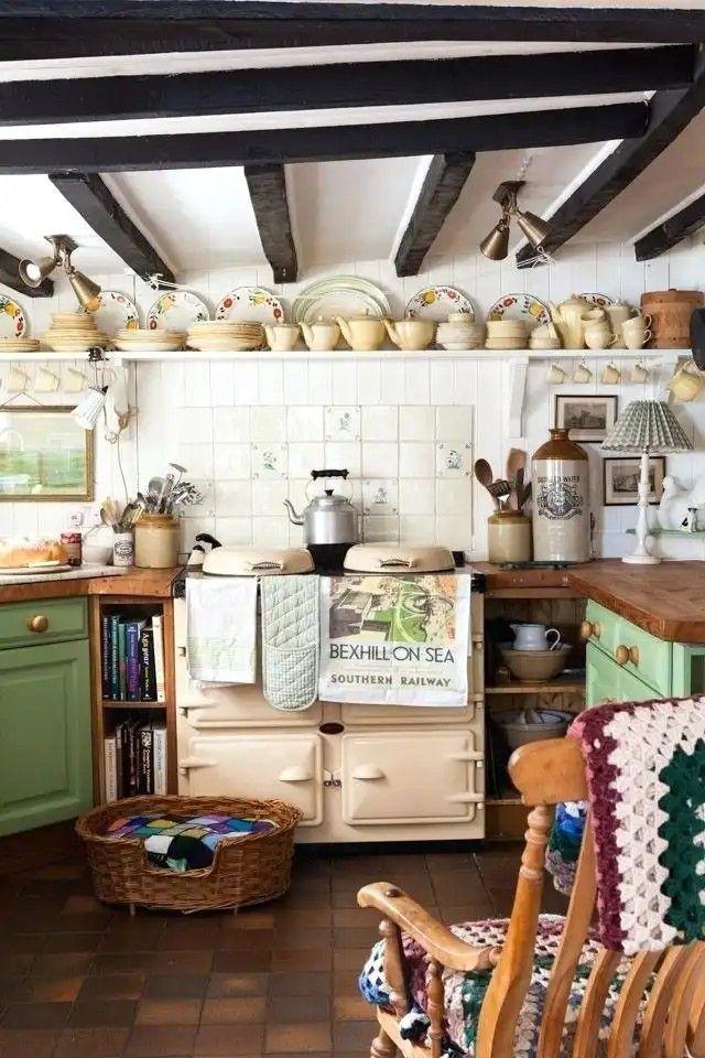 English Farmhouse English Cottage Kitchens Country Kitchen