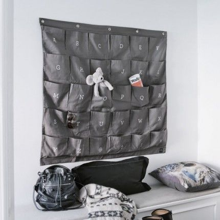 Buy Wally Wall Organiser, Grey