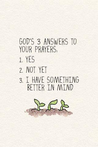 https://flic.kr/p/ahm9M7   God's 3 Answers to Your Prayers   www.littleseedblog.com