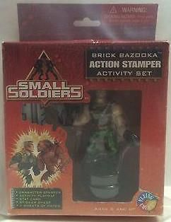 (TAS000051) - Small Soldiers - Brick Action Stamper Activity Set