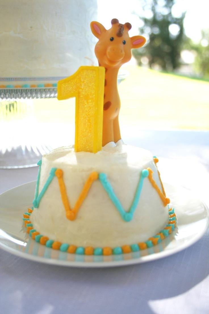 Giraffe Themed 1st Birthday Party