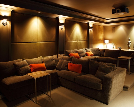 Media Room Designs Small Rooms