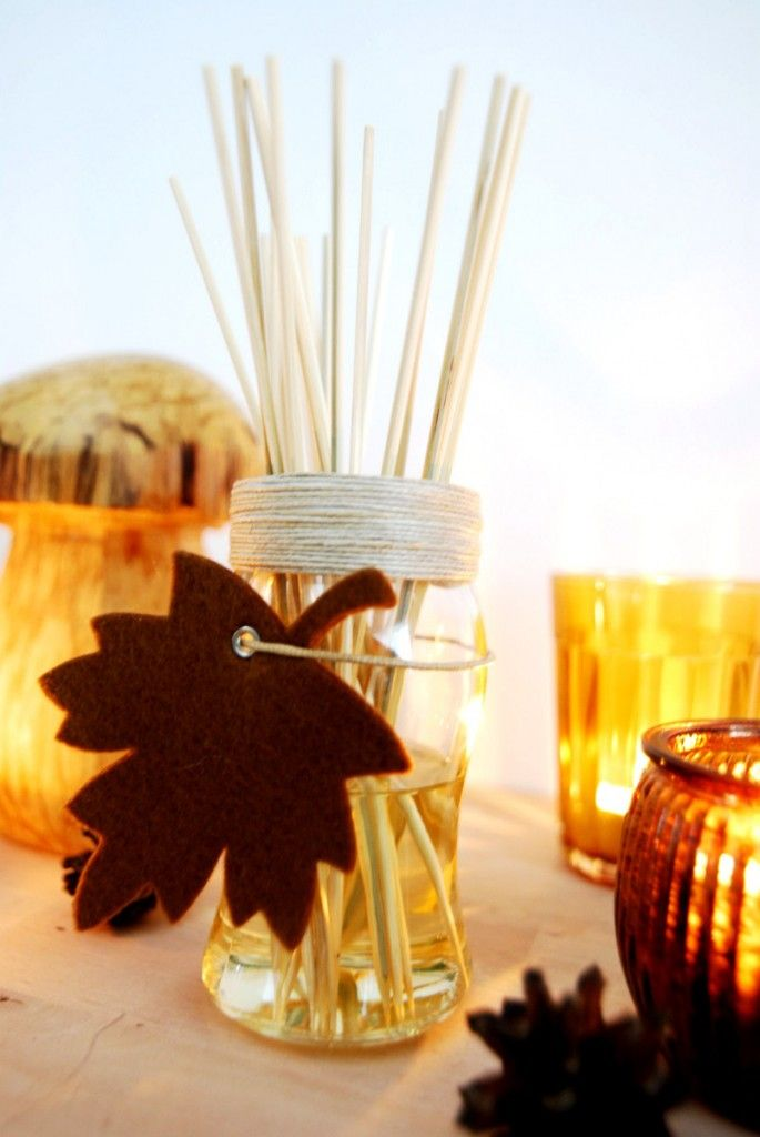 Ein toller Raumduft für den Herbst zum selber basteln, auch ein tolles DIY Geschenk für Deko Liebhaber