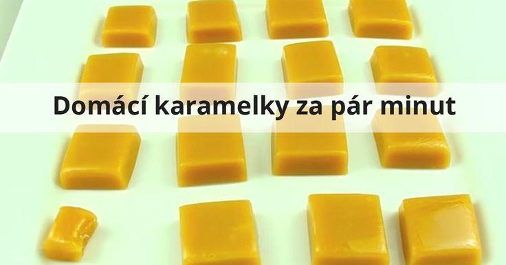 domácí karamelky