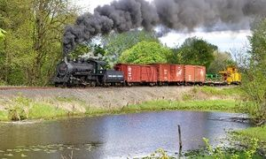 Groupon - $ 8.50 for a Coach Steam-Train Ride from Chehalis-Centralia Railroad & Museum ($14 Value) in Chehalis. Groupon deal price: $8.50