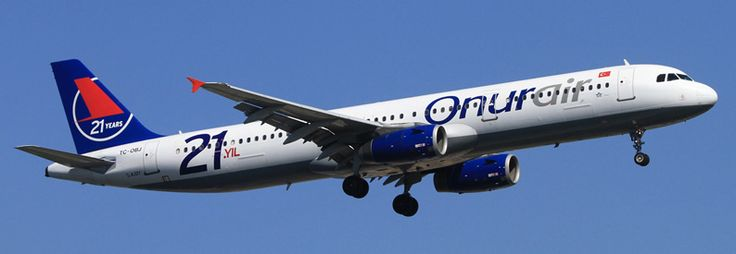 Onur Air Airbus A321-200