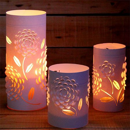 If you are looking for an affordable, quick and easy way to dress up a table for a special occasion, these paper lanterns are just the th...