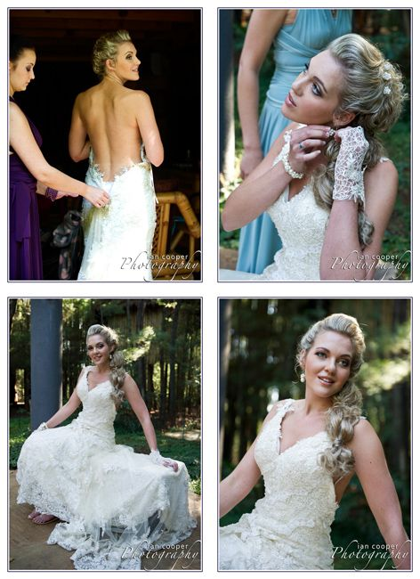 The Bride's preparation needs to be captured perfectly. www.icphotos.co.za