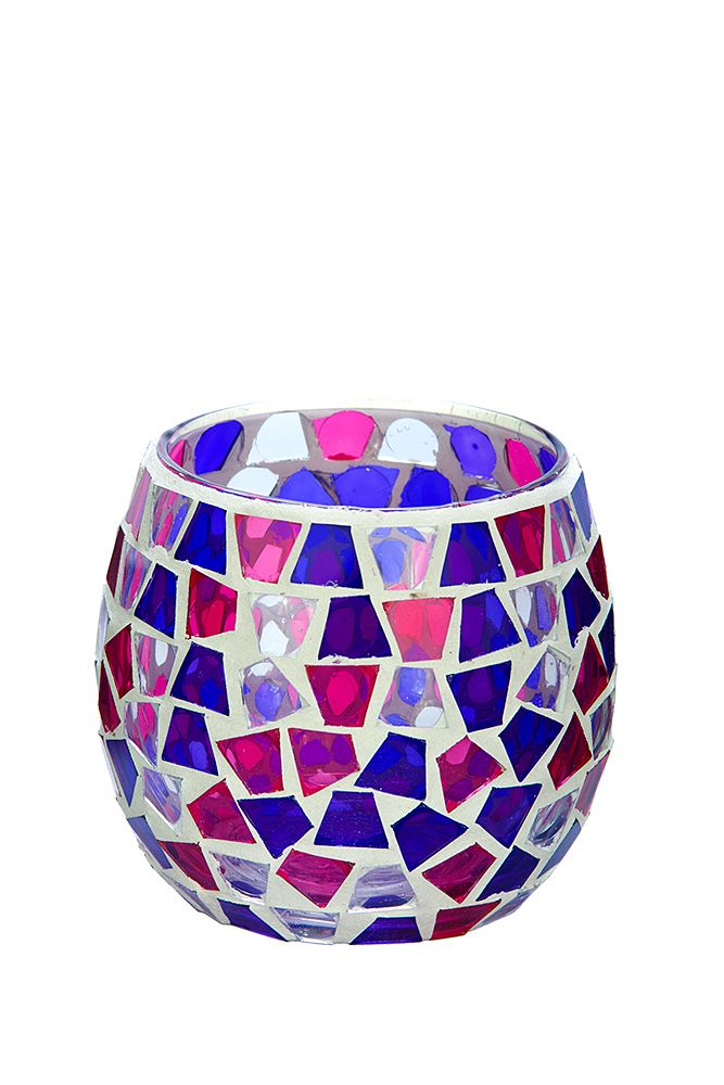 For those that like bright colours that pop, check out our new Pink, Purple and Clear medium mosaic. To see our entire range of mosaics, please click here: http://bit.ly/1zHtguh