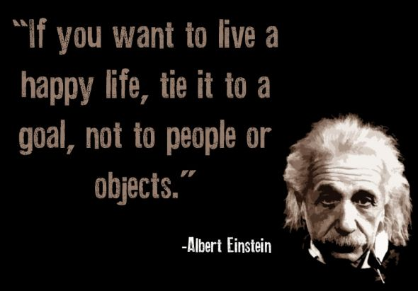 I think he may be my new hero.  Activating Thoughts: Picture Quotes By Albert Einstein