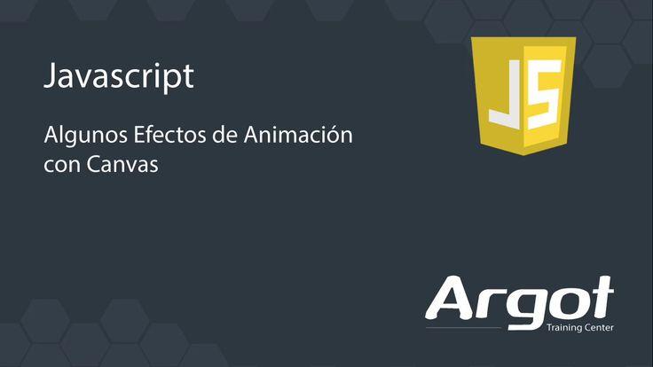 Efectos de animación con Canvas en HTML 5