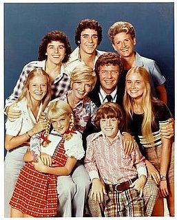 The Brady Bunch is an example of a blended family, or two separate families brought together by a marriage.