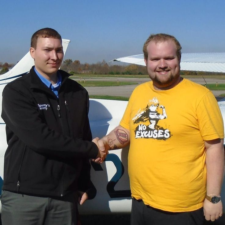 Jacob Thomas soloed in a single-engine aircraft on November 9 2017. This was Jacobs first flight as a student pilot without his instructor in the aircraft. Jacob is enrolled in the Aviation Technology: Professional Pilot Program at the University of Cincinnati Clermont College. The laboratory portion of the Professional Pilot Program is taught by Sportys Academy at the Clermont County Airport in Batavia Ohio.  A video of the flight is available at https://www.youtube.com/watch?v=SszwUHDggLk…