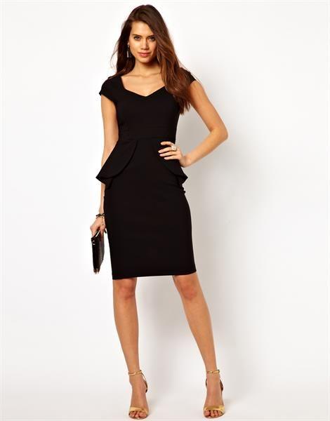 Платье с юбкой карандаш