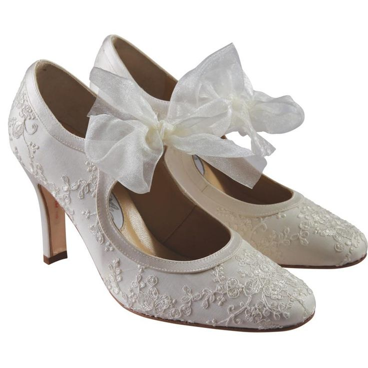 Diane Hassall Buttercup Wedding Shoes